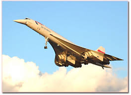 supersonic BAC/Sud Aviation Concorde